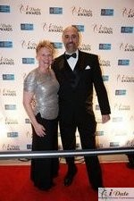 Julie Ferman (Cupid's Coach) and Paul Falzone (eLove) at the 2010 Internet Dating Industry Awards Ceremony in Miami