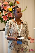 Robinne Burrell (Vice President at Match.com) at iDate2011 California