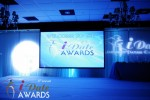 Awards Stage at the 2012 iDate Awards Ceremony