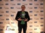 Sam Yagan - OKCupid.com won 3 iDateAwards  for 2012 at the 2012 Internet Dating Industry Awards in Miami