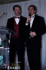 Mark Brooks and Marc Lesnick at the January 24, 2012 Internet Dating Industry Awards Ceremony in Miami