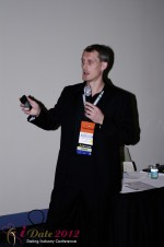 Dmitry Gritsenko - CEOMaster of Code at the 2012 Internet Dating Super Conference in Miami
