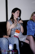 iDate2012 Dating Industry Final Panel - Tanya Fathers at the January 23-30, 2012 Miami Internet Dating Super Conference
