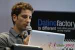 David Khalil (Co-Founder of eDarling) at iDate2012 Koln