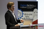 Florian Braunschweig (CTO of Lovoo) at the 2012 Koln Euro Mobile and Internet Dating Summit and Convention