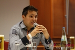 Final Panel (Benjamin Bak of Lovoo) at the 2012 Euro Online Dating Industry Conference in Koln