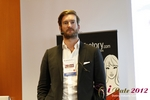 Matt Connoly (CEO of MyLovelyParent) at the September 10-11, 2012 Mobile and Internet Dating Industry Conference in Koln