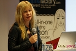 Professor Moniica Whitty (University of Leicester) at the September 10-11, 2012 Mobile and Internet Dating Industry Conference in Koln