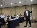 Marco Tulio Kehdi COO of Raccoon Marketing Digital speaking on Brazil Search  at the 36th iDate Dating South America Business Conference in Brasil