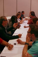Speed Networking at the June 5-7, 2013 Mobile Dating Industry Conference in Los Angeles