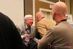 Dr. Neil Clark Warren (Founder and CEO of eHarmony) meeting other Dating Industry CEOs at the 2013 Internet Dating Super Conference in Las Vegas