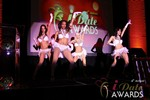 Las Vegas showgirls begin the festivities at the 2013 Las Vegas iDate Awards Ceremony