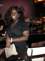 Charreah Jackson (Essence Magazine) at the Shadow Bar Party at the 2013 Las Vegas Digital Dating Conference and Internet Dating Industry Event