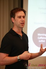 Author Neal Cabage Of The Smarter Startup at the 2014 Beverly Hills Mobile Dating Summit and Convention