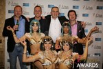 The Crew from Britian  in Las Vegas at the January 15, 2014 Internet Dating Industry Awards