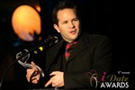 Michael O'Sullivan (Winner of Best Dating Software & SAAS) in Las Vegas at the 2014 Online Dating Industry Awards