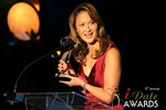 Award accepted on behalf of Caroline Brealey (Winner of Best Matchmaker) at the 2014 Las Vegas iDate Awards