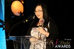 Michelle Li of Successful Match (Winner of the DatingWebsiteReview.net Award for Best New Feature) at the January 15, 2014 Internet Dating Industry Awards Ceremony in Las Vegas