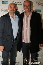 Sean Kelley & Benoit Le Chevallier  at the 2014 Internet Dating Industry Awards Ceremony in Las Vegas