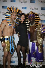 Enjoying the scenery  at the 2014 Internet Dating Industry Awards in Las Vegas