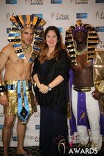 No entourage needed  in Las Vegas at the 2014 Online Dating Industry Awards