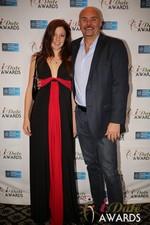 Tatyana Seredyuk & Sean Kelley  in Las Vegas at the 2014 Online Dating Industry Awards