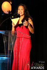 Carmelia Ray  at the 2014 Las Vegas iDate Awards Ceremony