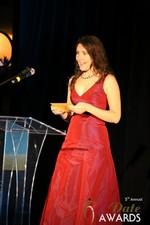 Tanya Fathers  at the January 15, 2014 Internet Dating Industry Awards Ceremony in Las Vegas