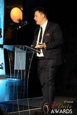 Maciej Koper of World Dating Company (Winner of Best New Technology) at the 2014 Internet Dating Industry Awards Ceremony in Las Vegas