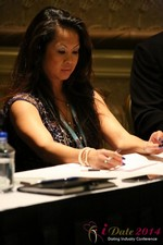 Carmelia Ray at the January 14-16, 2014 Las Vegas Online Dating Industry Super Conference