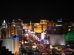 View of Las Vegas Strip - Party @ Foundation Room at the January 14-16, 2014 Las Vegas Online Dating Industry Super Conference