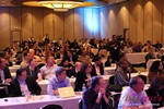 Audience at Final Panel Debate at the 2014 Internet Dating Super Conference in Las Vegas