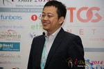 CFO of Jiayuan at iDate at the January 14-16, 2014 Internet Dating Super Conference in Las Vegas