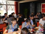 Lunch at the May 28-29, 2015 Mobile and Internet Dating Industry Conference in China