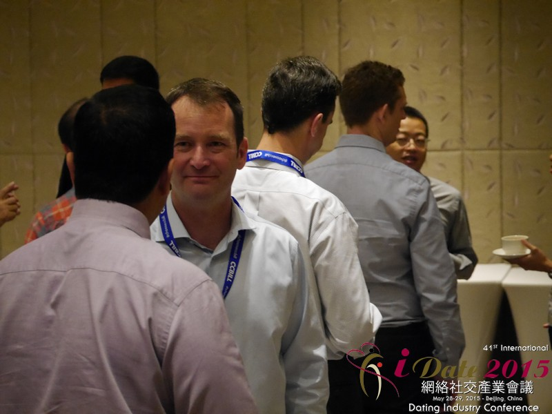 Networking among China and Far East Dating Executives at the May 28-29, 2015 China Asia Internet and Mobile Dating Industry Conference