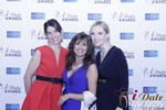 Leila Benton-Jones, Renee Piane and Rachel MacLynn at the January 15, 2015 Internet Dating Industry Awards Ceremony in Las Vegas