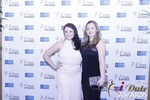 Genevieve Zawada and Sarah Ryan at the 2015 iDate Awards Ceremony