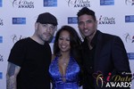 Sean Christian, Carmelia Ray and Doron Kim at the 2015 iDateAwards Ceremony in Las Vegas
