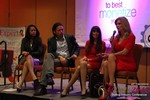 CNN Panel on Content Marketing - Carmelia Ray, David Perez, Julie Spira & Wendy Walsh at the January 20-22, 2015 Las Vegas Internet Dating Super Conference