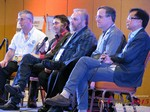 Panel on Online Dating Fraud and Scam Methods - Dave Wiseman, Michael McQuown, Wayne May, Alex Kirkpatrick and Brandon Wade at the January 20-22, 2015 Las Vegas Online Dating Industry Super Conference