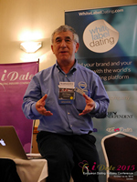 Dave Wiseman Vice President Of Sales And Marketing Speaking To The European Dating Market On Scam Detection Technology at the European Union iDate conference and expo for matchmakers and online dating professionals in 2015