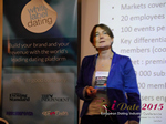 Pauline Tourneur General Manager Of Attractive World Speaking On The French Online And Mobile Dating Market  at the 2015 London European Union Mobile and Internet Dating Expo and Convention