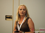 Krystina Trushnya - Publisher of Ukranian Dating Blog at the 45th iDate P.I.D. Industry Trade Show