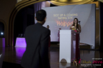 Svetlana Mukha Presenting the Best Up & Coming Dating Site Award in Miami at the 2016 Online Dating Industry Awards
