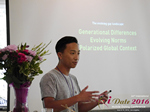 Monty Suwannukul (Product designer at Grindr)  at the June 8-10, 2016 Mobile Dating Negócio Conference in Los Angeles