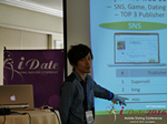 Takuya Iwamoto (Diverse-yyc-co-jp)  at the 38th Mobile Dating Negócio Conference in Los Angeles