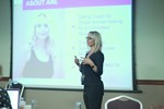 Ane Auret, CEO, presenting on Coaching Programs that work at the September 26-28, 2016 Londres União Europeia Internet and Mobile Dating Industry Conference