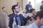 Questions from the audience at UK iDate Dating Business conference in London 2016. at iDate2016 Londres