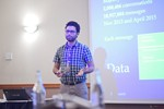 Taha Yasseri, Research Fellow in Computational Social Science from University of Oxford, presenting a statistical description of mobile dating communications. at iDate2016 Europe