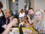 Lunch at iDate2017 Misnk, Belarus
